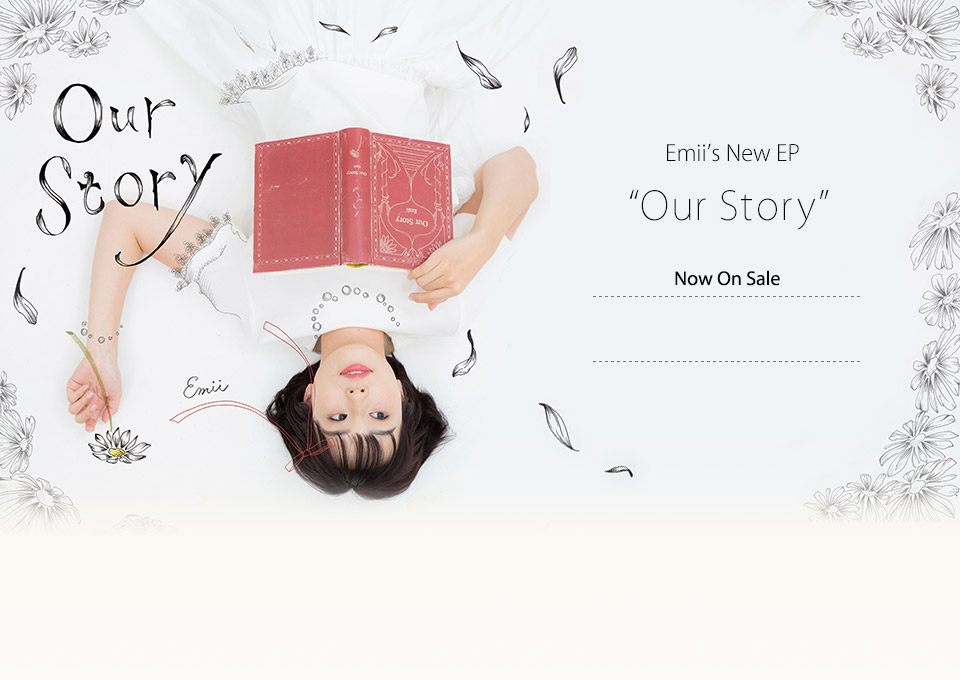 「Our Story」好評発売中!